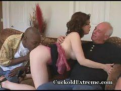 Huge Load Dumped On Her Pussy