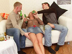 Too drunk and abused by 2 guys