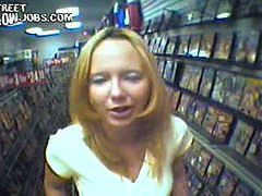 Movies of cute blonde tranny getting plugged