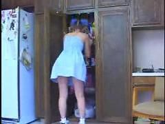 Young Babysitter Fucked By Midget ( amateur teen 18 m...
