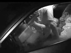 Voyeur sex in a Car