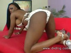 Delicious Ebony Cutie Jada Fire Squirts Cum Like A Fi...