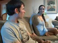 Hottest STEP MOM Kimberly Kole is horny for stud cock...