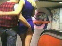 Sex in Underground Station