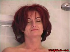Horny redhead Mature