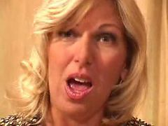 HORNY Blonde Granny Fucked By Younger ( amateur matur...