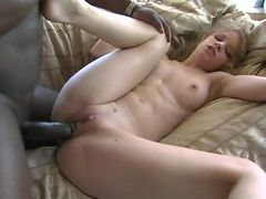Pretty Gwen Jade banged by black dude