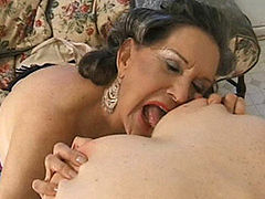 Horny granny slut loves to fuck again