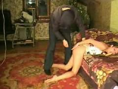 Asian amateur tied up and fucked,  fucked and abused