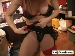 Katja Kassin and Kandice - Hot Sluts About To Get Fuc...