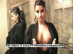 Alexa Loren ftv girls, Busty Brunette At Shower