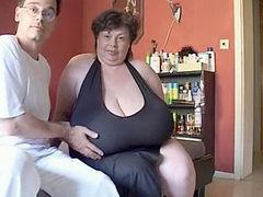 Enormous Granny Tits