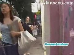 Asian Korean Nasty Girl Hunting
