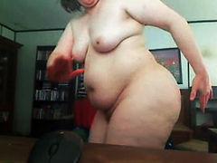 Bored Housewife having webcam fun