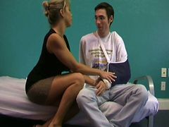 Stepmom gives Hot Handjob