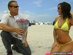 Sandra Romain grants wish of a lifetime for old guy
