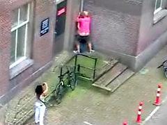Amsterdam City center public sex