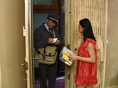Lucky postman