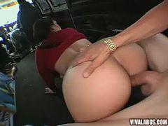 Cynthia Fucking in a van