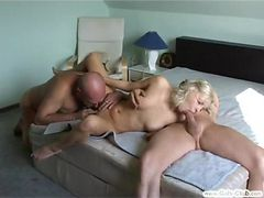 Drunk Couple Get Horny MMF