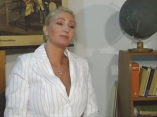 German teacher fuck with a young boy