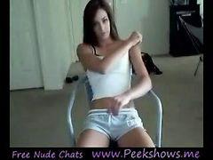 18 teen webcam strip