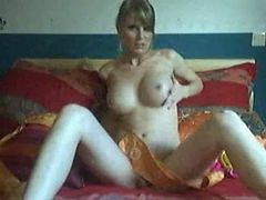 Hot blonde MILF on cam