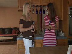 Busty Lesbians Make Passionate Love - Juliana & T...