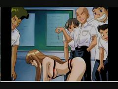 ANIME Teacher  gets fucked by her students