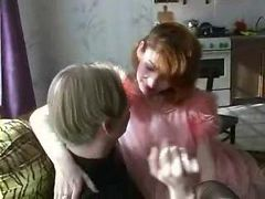 Hardcore Russian Mature Mom Son Home Sex