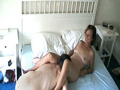 Granny is horny and wants to play with a cock