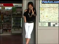 Japanese Girl Masturbating in Public