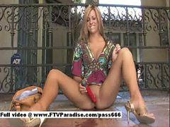 Leslie from ftv girls, Babe Masturbate & Squirt