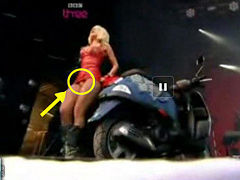 Strange and sexy Lady Gaga