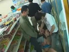 Jpanese lady groped at the store