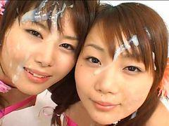 Japanese Lolitas Bukkake Lick