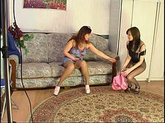 Mature and Young Lesbian Shenythia&Gertie