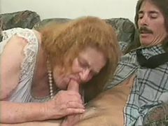 mature granny blonde fucking sex with hubby cock on s...