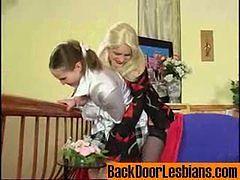 Ninon&Nellie crazy anal lesbian video