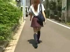 Public J-Sharking - Crazy Guys Sharks Japanese Girls