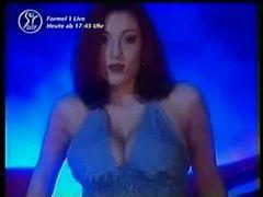 Ashley Robbins striptease