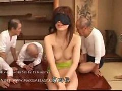 Girl Tricked into Group Sex with a Bunch of Old Men P...