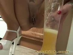 Rancid whore anal drink