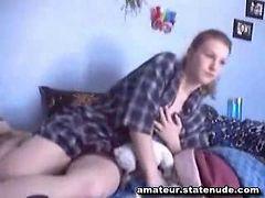 18 Year old girl in Boy Shorts
