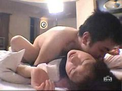 Young asian couple sex