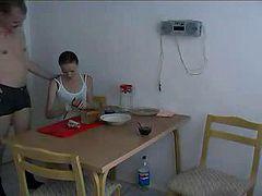 Russian breakfast - russian ass