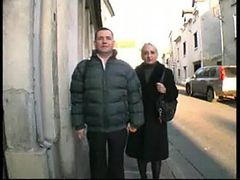French couple filmed