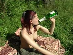 Family picnic. Have fucked a step sister, while prepa...