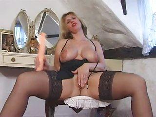 Blonde English Mature Fucks