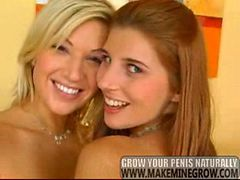 Clara G. and Simi Brad - Two hot lesbian beauties